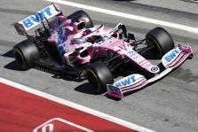 """FIA nerado pažeidimų """"Racing Point RP20"""" bolide"""