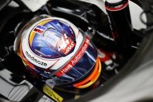 "R. Grosjeanas - konkurencija ""Formulėje-1"", lyg Federeris su stalo teniso rakete"
