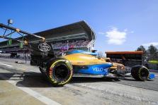 """""""McLaren"""" galės modifikuoti bolido važiuoklę"""