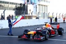 M. Verstappenas išbandė atnaujintą Zandvoorto trasą