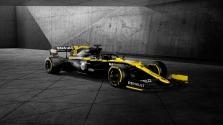 """""""Renault"""" pristatė bolido išdažymą"""