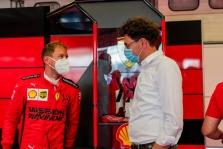 """""""Ferrari"""" ir S. Vettelio skyrybų priežastis - pandemija"""