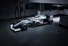 """""""Williams"""" pristatė atnaujintą bolido išdažymą"""