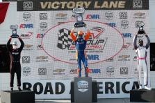 "<span style=""background:#3f3f3f; color:white; padding: 0 2px"">IndyCar</span> ""Road America"" trasoje - trečioji iš eilės S. Dixono pergalė"
