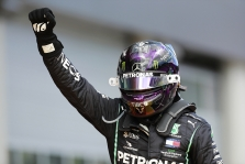 Štirijos GP lenktynėse - L. Hamiltono triumfas