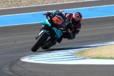 "<span style=""background:#d5002c; color:white; padding: 0 2px"">MotoGP</span> Jereze - F. Quartararo triumfas ir M. Marquezo nesėkmė"