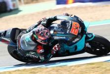 """<span style=""""background:#d5002c; color:white; padding: 0 2px"""">MotoGP</span> Andalūzijos GP iš pirmos pozicijos pradės F. Quartararo"""
