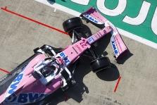 """Teisėjai išnagrinėjo """"Renault"""" protestą prieš """"Racing Point"""""""