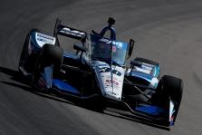"""<span style=""""background:#3f3f3f; color:white; padding: 0 2px"""">IndyCar</span> """"Pole"""" pozicijas St. Luise iškovojo W. Poweris ir T. Sato"""