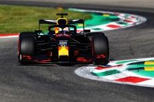 """M. Verstappenas liko patenkintas """"Red Bull"""" greičiu Mugelle"""