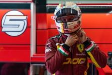 S. Vettelis - prieš atvirkštinį startą