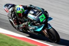 "<span style=""background:#d5002c; color:white; padding: 0 2px"">MotoGP</span> Barselonoje pirmąją ""pole"" iškovojo F. Morbidelli"