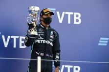 L. Hamiltonas atsiprašė dėl savo reakcijos po Rusijos GP lenktynių