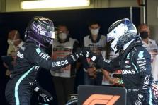 V. Bottas: aš ne N. Rosbergas, tad nežaisiu psichologinių žaidimų