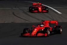 Vettelis: Leclercas važiuoja kitoje lygoje