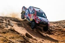 Dakaras. Šiandien greičiausias N. Al-Attiyah, B. Vanagas prarado poziciją