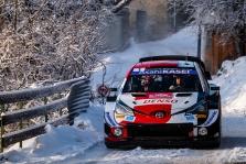 WRC. Monte Karlo ralyje aštuntą kartą nugalėjo S. Ogier
