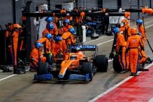 """G. Andersonas: """"McLaren MCL35M"""" šoniniai deflektoriai smarkiai pakito"""
