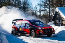WRC. Arktikos ralyje triumfavo O. Tanakas