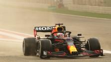 Pirmąją bandymų dieną Bahreine greičiausias M. Verstappenas