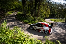 WRC. Kroatijos ralio apšilime geriausiai pasirodė E. Evansas