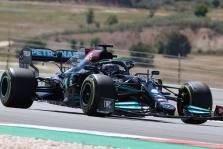 Portugalijoje antrąją pergalę sezone iškovojo L. Hamiltonas