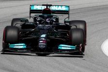 """Ispanijoje 100-ąja """"pole"""" poziciją iškovojo L. Hamiltonas"""