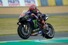 """MotoGP. Prancūzijoje lenktynes iš """"pole"""" pozicijos pradės F. Quartararo"""