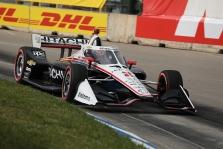 "IndyCar. Antras lenktynes Detroite iš ""pole"" pradės J. Newgardenas"