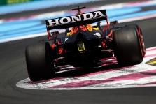 """""""Red Bull"""" JAV """"Honda"""" logotipus keis į """"Acura"""""""