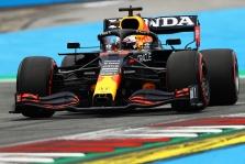 """Lenktynes Austrijoje iš """"pole"""" pozicijos pradės M. Verstappenas"""