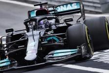 """Silverstoune sprinto lenktynes iš """"pole"""" pozicijos pradės L. Hamiltonas"""